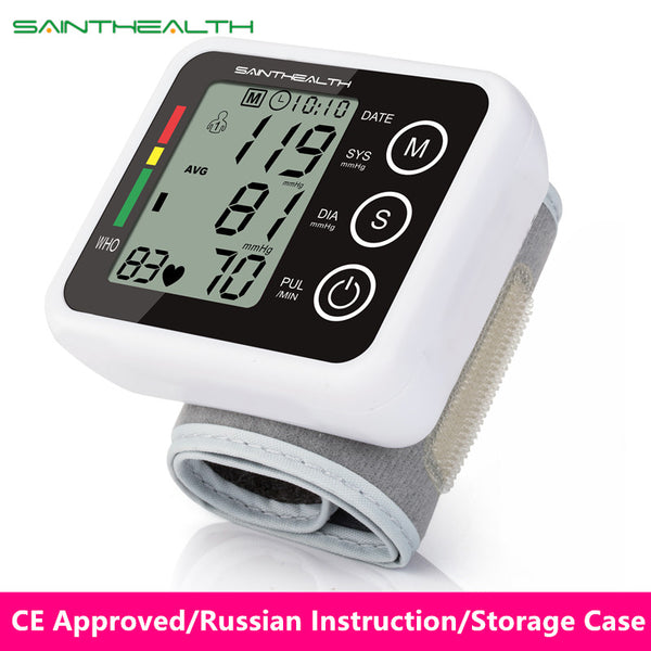 Automatic Wrist Digital Blood Pressure Monitor - Smart gadget & Accessories,Baby & toy