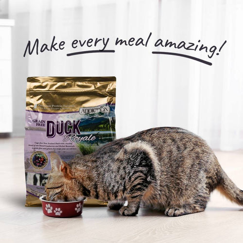 Addiction Duck Royale NZ Grain Free Dry Cat Food - 1.8kg