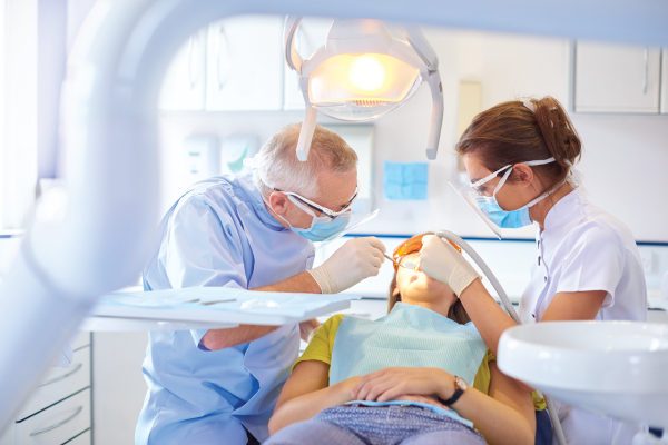Dental procedures use Lidocaine HCL to numb areas in the mouth