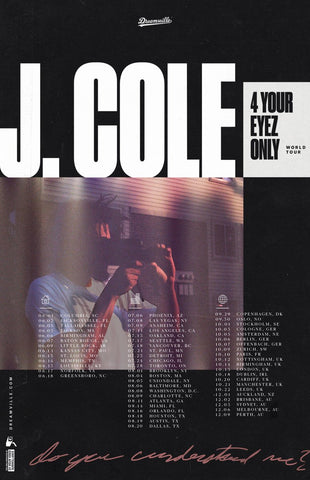 4 Your Eyez Only Tour