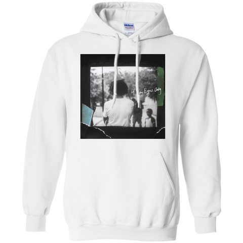 4 Your Eyez Only Album Cover Hoodie - White