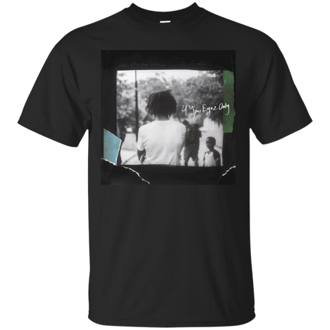4 Your Eyez Only Album Cover T-Shirt - Black