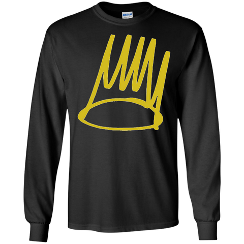 Born Sinner Crown Long Sleeve - Black