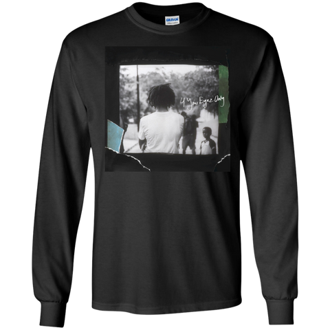 4 Your Eyez Only Album Cover Long Sleeve - Black