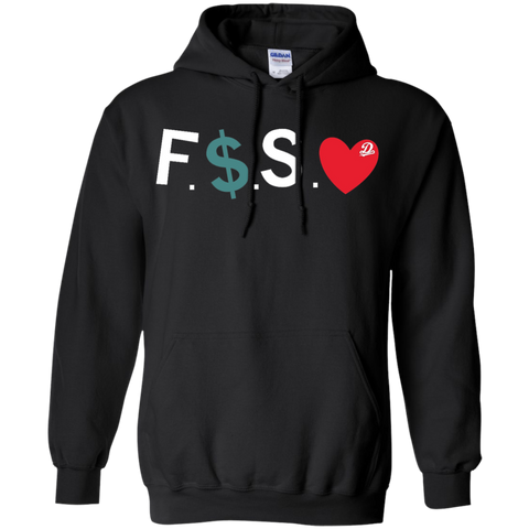 F*ck Money Spread Love Hoodie - Black