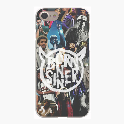 Born Sinner Collage iPhone Case