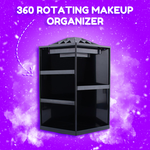 LUX 360 Rotating Makeup Organizer - The Luxury Vibe