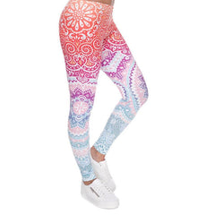 Zohra Brands Legging Ombre Printing - The Luxury Vibe