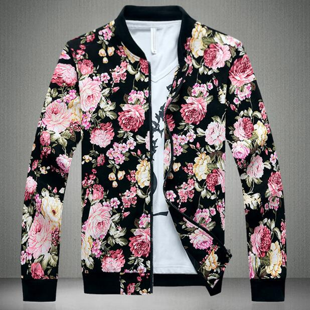 LUX MEN Floral Jacket - The Luxury Vibe