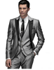 Image of Custom Light Gray Tailcoat Suit - The Luxury Vibe