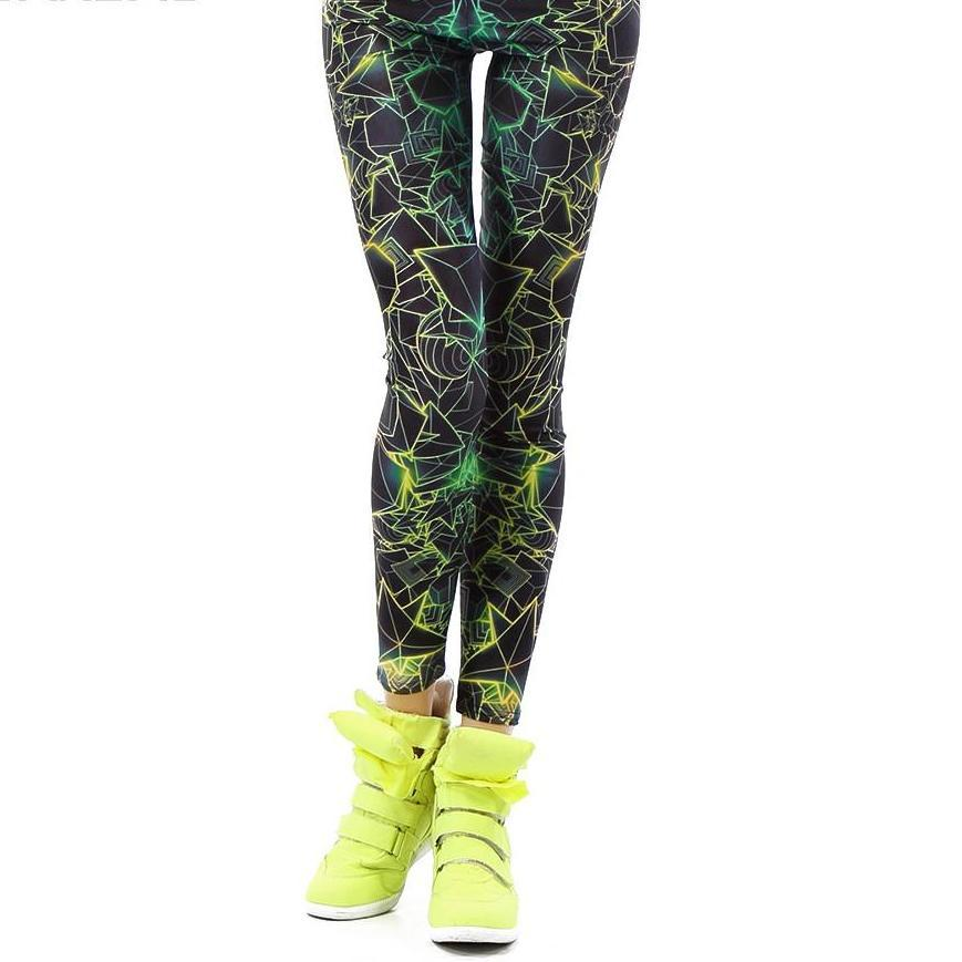 3D Printed Fluorescence Leggings - The Luxury Vibe