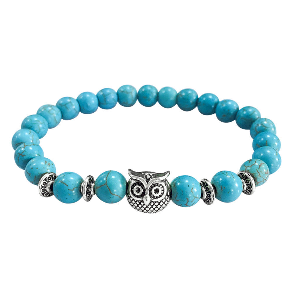 OVO Owl Silver Bracelet - The Luxury Vibe