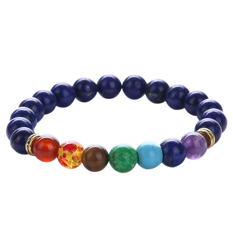 Chakra Healing Balance Beads Bracelet - The Luxury Vibe