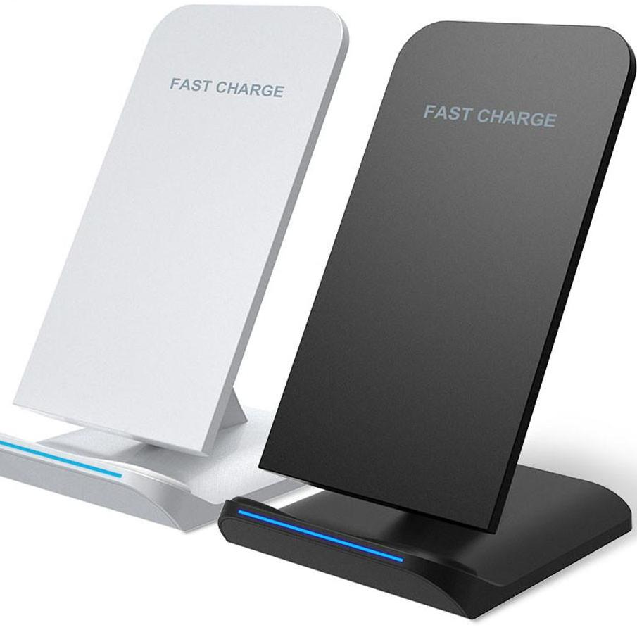 POWSTRO Qi Wireless Charger Fast Charging Holder - The Luxury Vibe