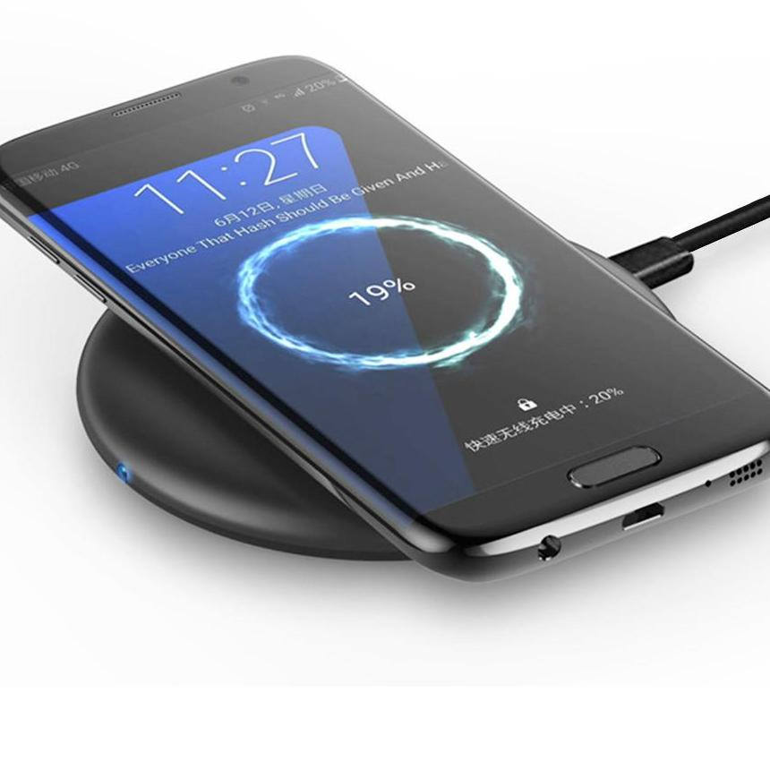 Powstro Fast Wireless Charger w/ Fast Heat Dissipation Support - The Luxury Vibe