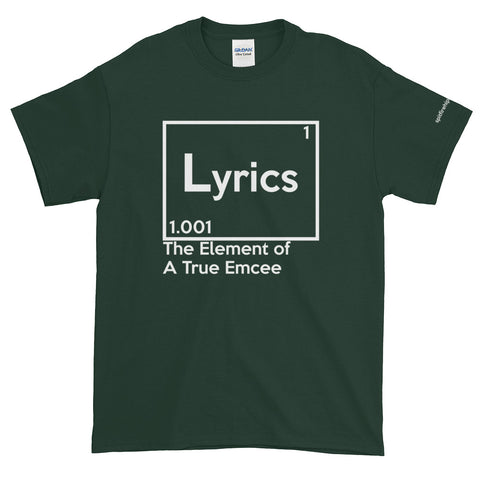Lyrics Element T-Shirt - SpitFireHipHop