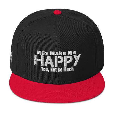 MCs Make Me Happy Snapback - SpitFireHipHop