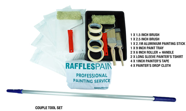 COUPLE Painting Tools Set (1-ROOM)