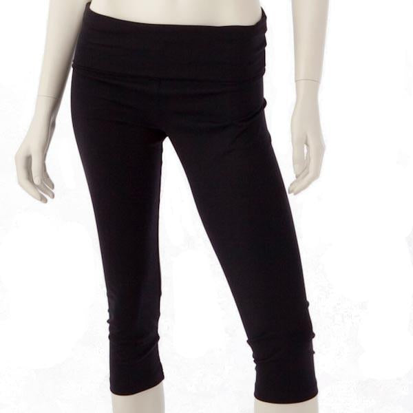 Abi and Joseph | Yoga Pilates Active Capri Pants | Black