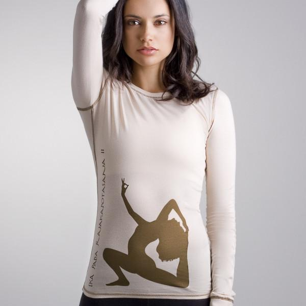 Chakras by Didi | Pigeon Pose Yoga Long Sleeve Tee