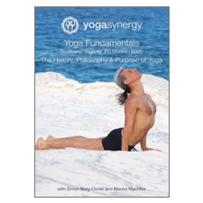 Yoga Synergy | Yoga Fundamentals History and Philosophy | DVD