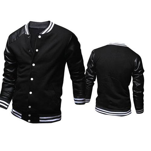VOBOOM College Baseball Jacket