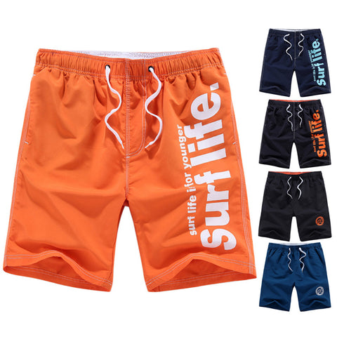 Male Beach Shorts Sweat Boardshorts