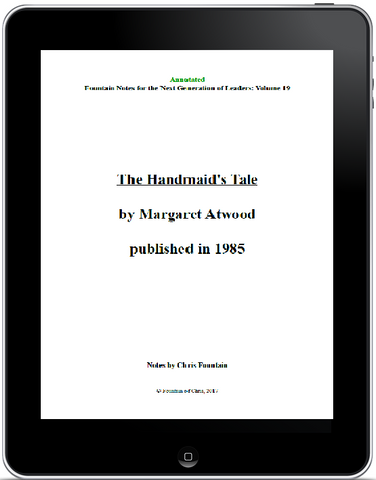 Annotated Fountain Notes Vol. 019 - The Handmaid's Tale