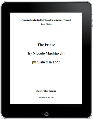 Fountain Notes Vol. 006 - The Prince, basic edition