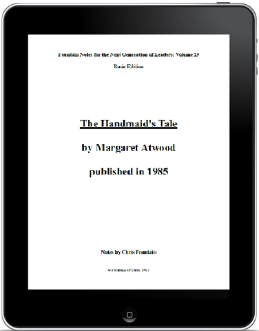 Fountain Notes Vol. 019 - The Handmaid's Tale