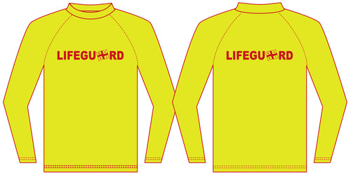 NSRI Lifeguard Rash Vest (Mens)