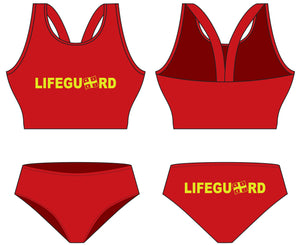 "NSRI Lifeguard WOB ""On Duty"" Top"