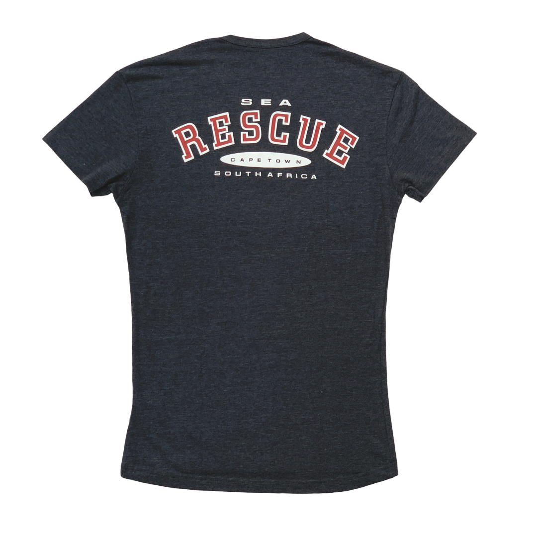 NSRI T-Shirt - Short Sleeve Charcoal