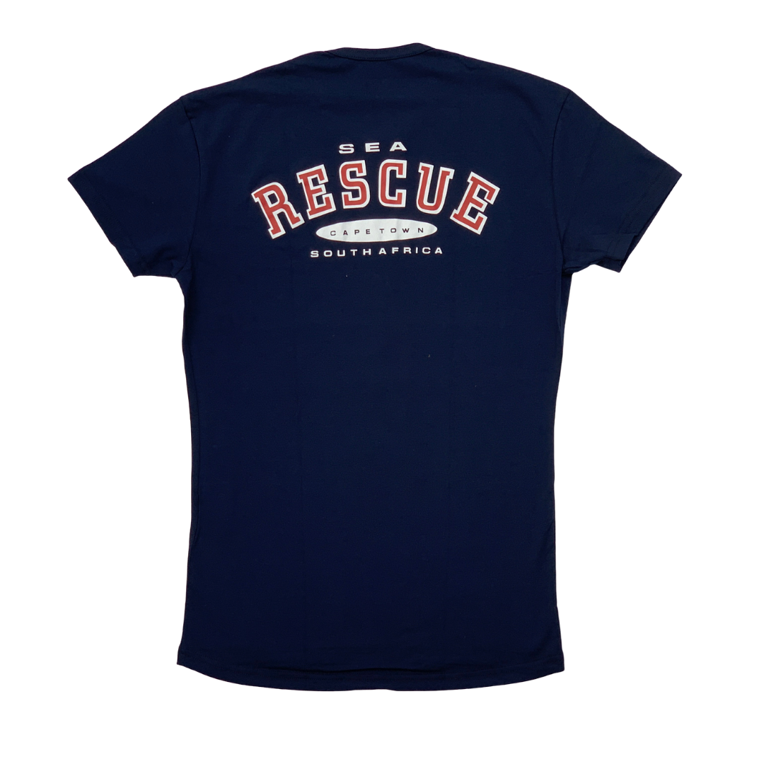 NSRI T-Shirt - Short Sleeve Navy Blue