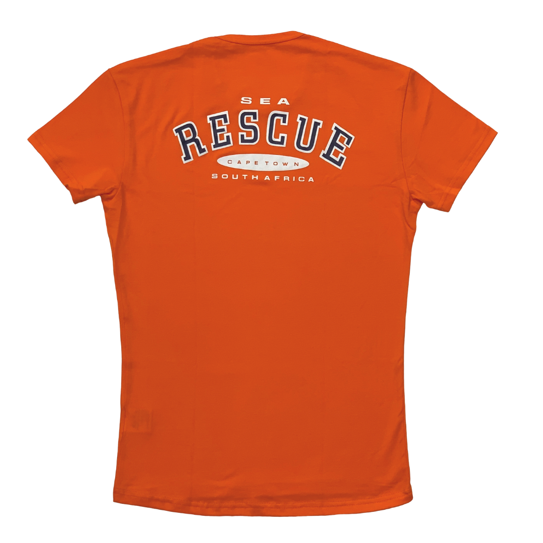 NSRI T-Shirt - Short Sleeve Orange