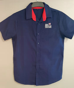 Mens Crew Uniform Formal Shirt- Short Sleeve (New)