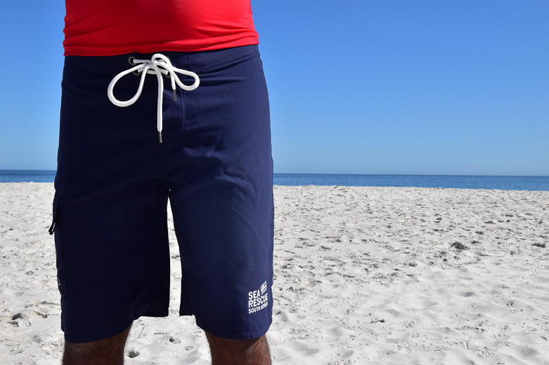 Crew Uniform Board Shorts Navy (Mens)