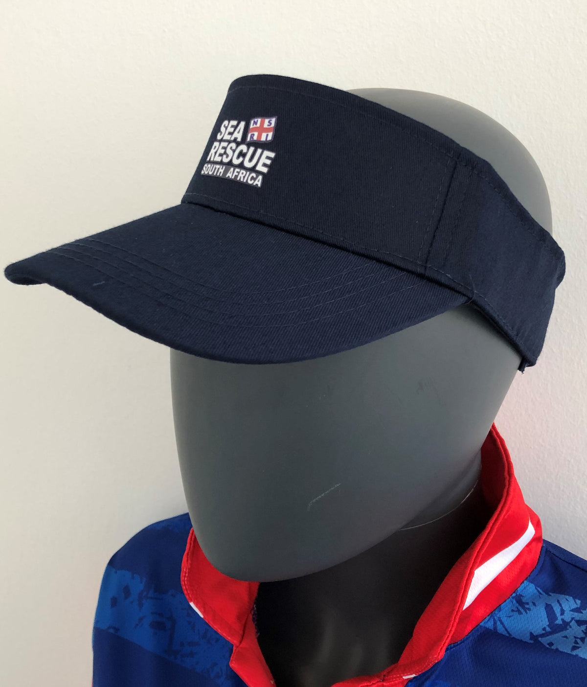 "NSRI Cap ""Sea Rescue Logo"" Visor Navy Blue"