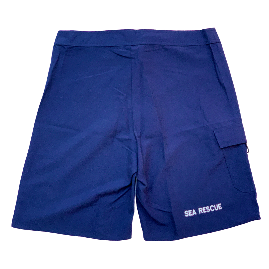 NSRI Crew Uniform Board Shorts Navy (Mens)