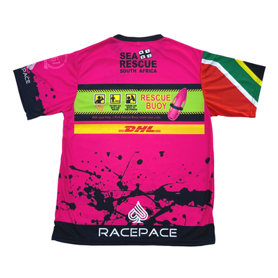 "NSRI Activity Shirt ""Pink Rescue Buoy"" (Unisex)"