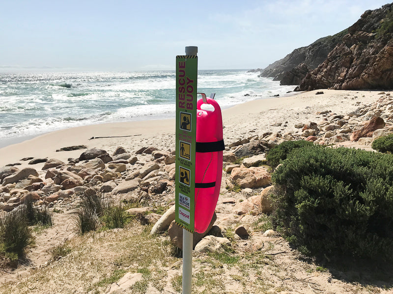 Lite Pink Rescue Buoy