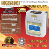 Biosystem Shift King-D Time Recorder Machine