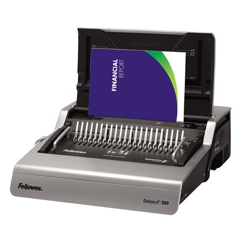 Fellowes Galaxy Electric E500 Comb Binder