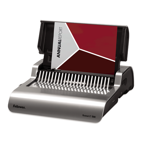 Fellowes Quasar Electric E500 Comb Binder