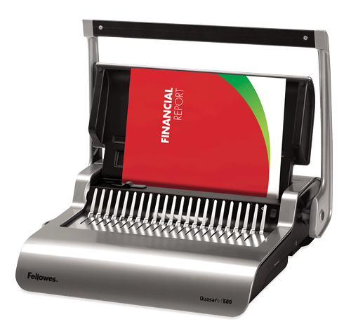 Fellowes Quasar+ Manual Binder