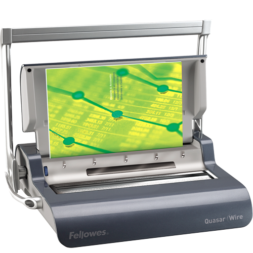Fellowes Quasar Manual Wire Binder