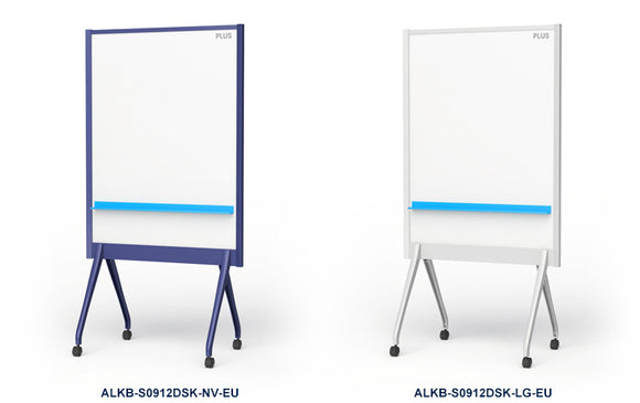 PLUS Stylish Mobile Partition Whiteboard