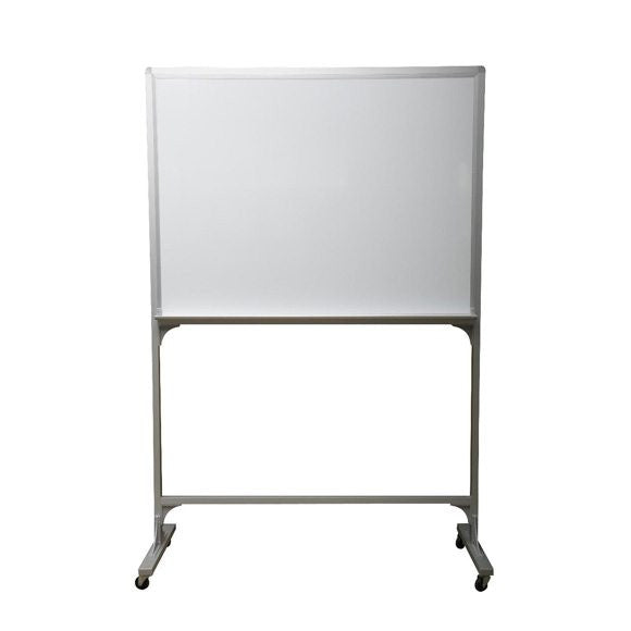 Magnetic Mobile Whiteboard With Aluminium Stand (Double Sided)