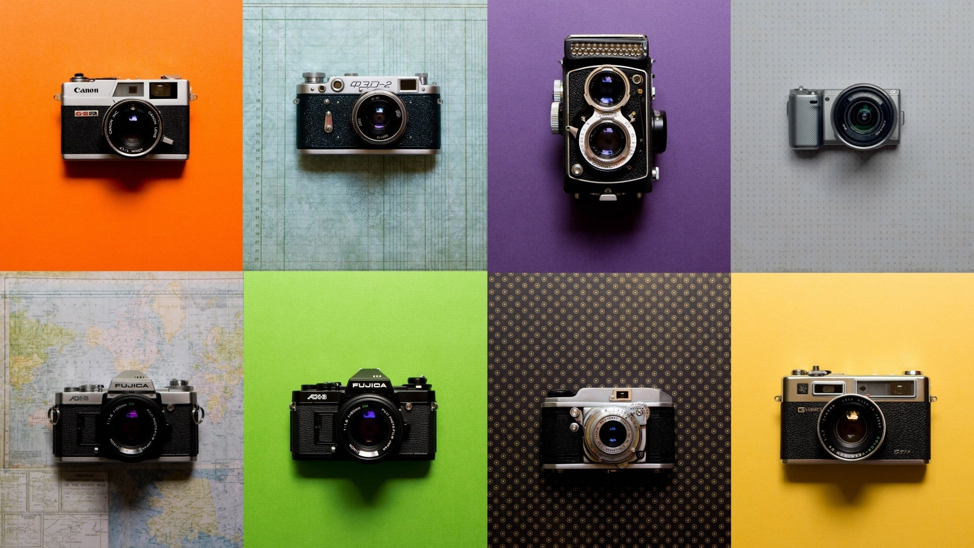 Different Types of Camera Used in Photography