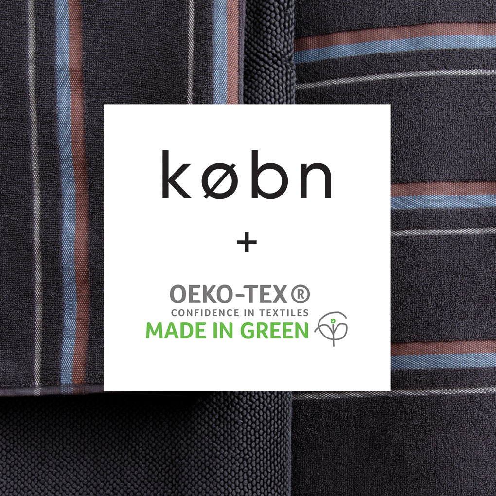 Købn Charcoal Towel PRE-ORDER FOR EARLY DECEMBER